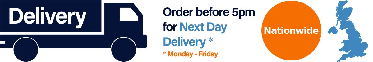order by 5 pm for free next working day delivery