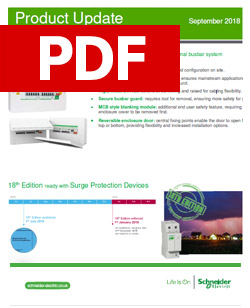 Schneider - Easy9 surge protection product update - PDF