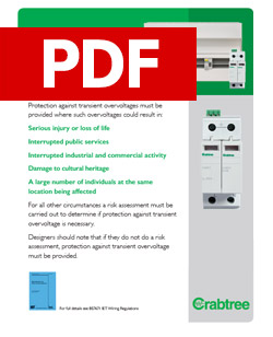 Crabtree - Overvoltage Protection - PDF