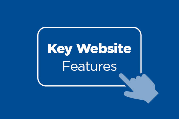Key Website Features