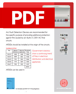 Wylex - Arc Fault Detection Devices 421.1.7 - PDF