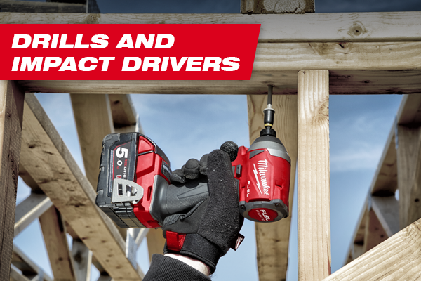 drills and impact drivers